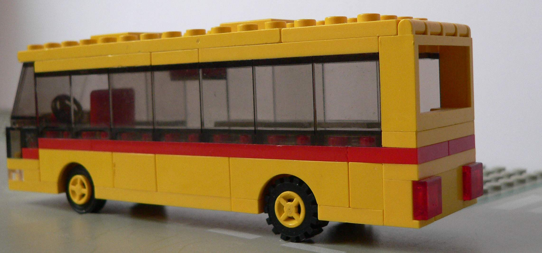 how to build a lego bus